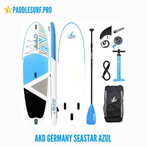 Opiniones de la Tabla de Paddle Surf Akd Germany Seastar Azul